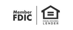 Member FDIC and Equal Housing Lender logos